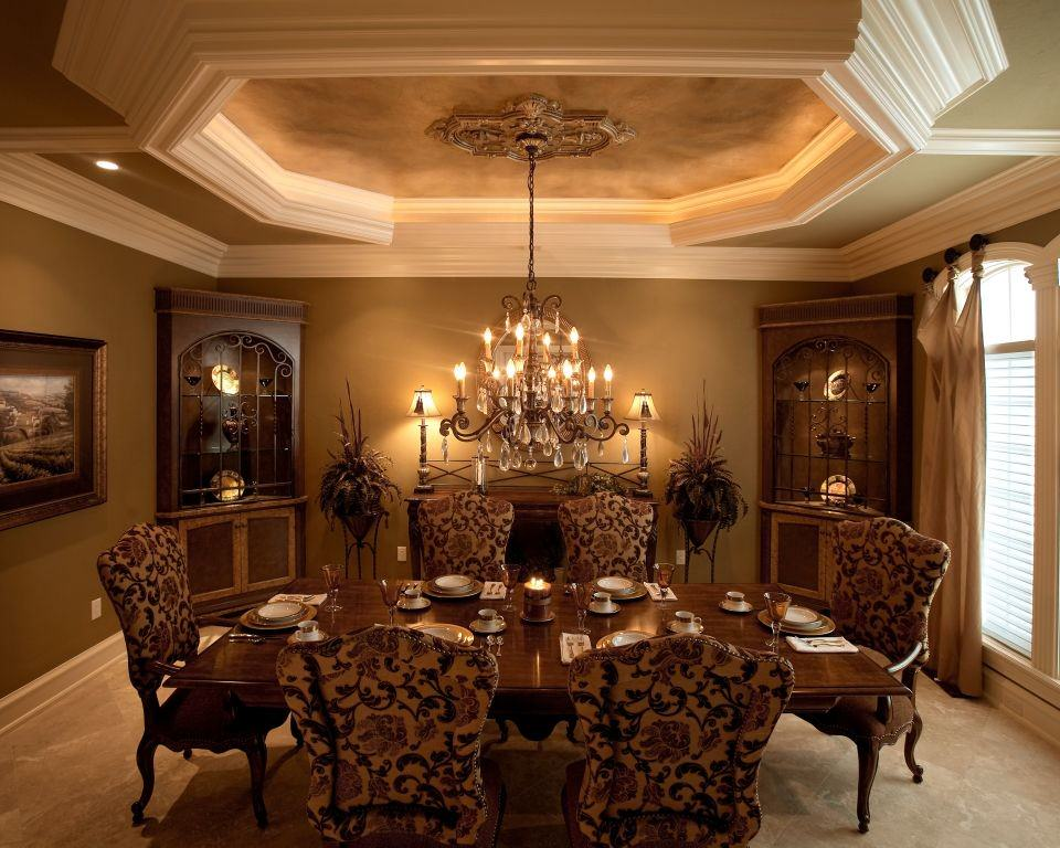 25+ Dining Room Cabinet Designs, Decorating Ideas | Design ... on Dining Table Ceiling Design  id=92293