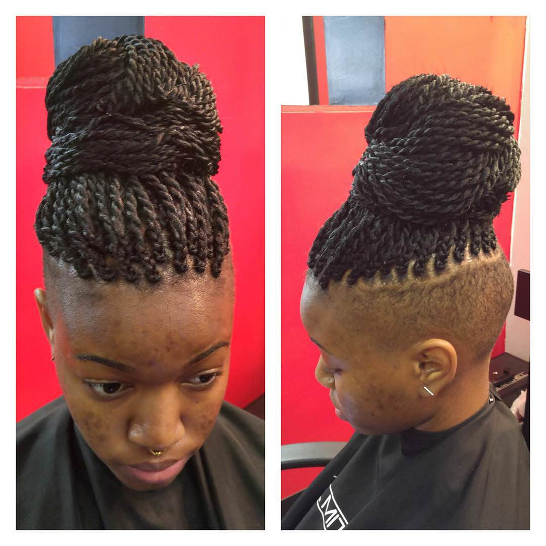 26 Natural Twist Hairstyle Designs Ideas Design Trends