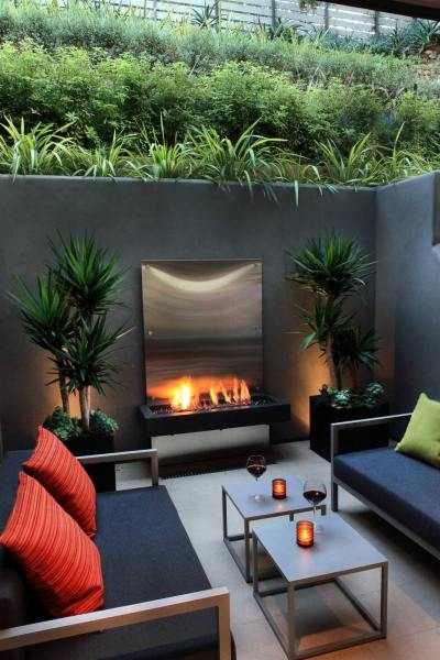modern patio design ideas 23+ Concrete Wall Designs, Decor Ideas | Design Trends