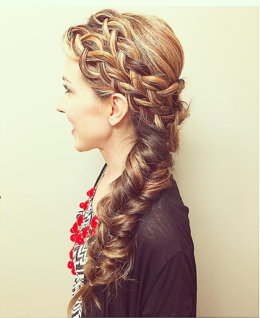 27 Side Braid Hairstyle Designs Ideas Design Trends