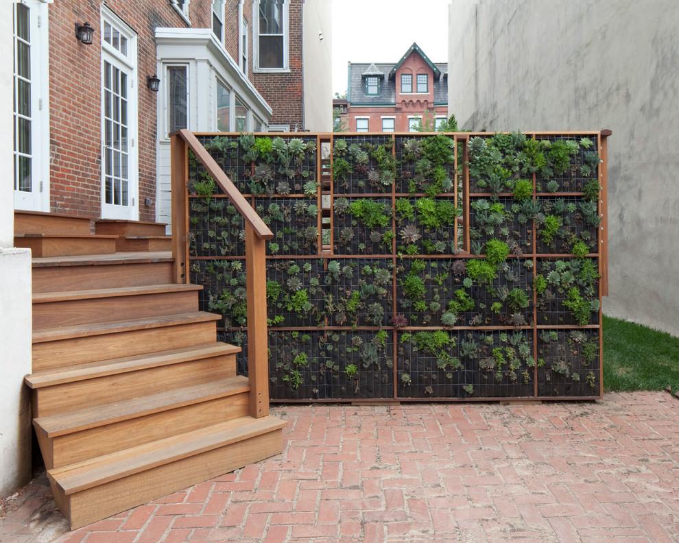 23+ Green Wall Designs, Decor Ideas | Design Trends ... on Garden Patio Wall Ideas id=73752