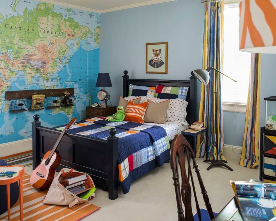 20+ Teen Boys Bedroom Designs, Decorating Ideas | Design ... on Cool Bedroom Ideas For Teenage Guys With Small Rooms  id=81310