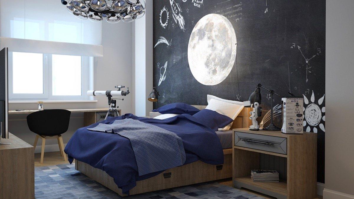 24+ Teen Boys Room Designs, Decorating Ideas   Design ... on Teenager Style Teenage Room  id=67263