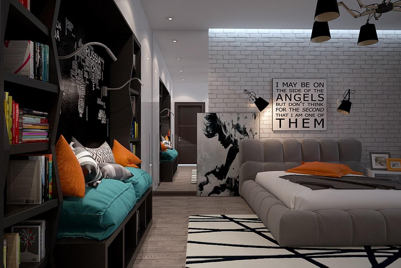 24+ Teen Boys Room Designs, Decorating Ideas | Design ... on Teenage Room Ideas Boy  id=66057