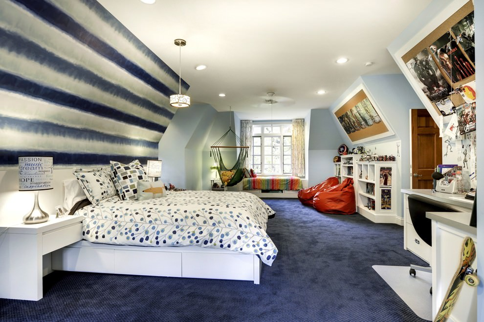 24+ Teen Boys Room Designs, Decorating Ideas | Design ... on A Small Room Cheap Cool Bedroom Ideas For Teenage Guys Small Rooms  id=90382