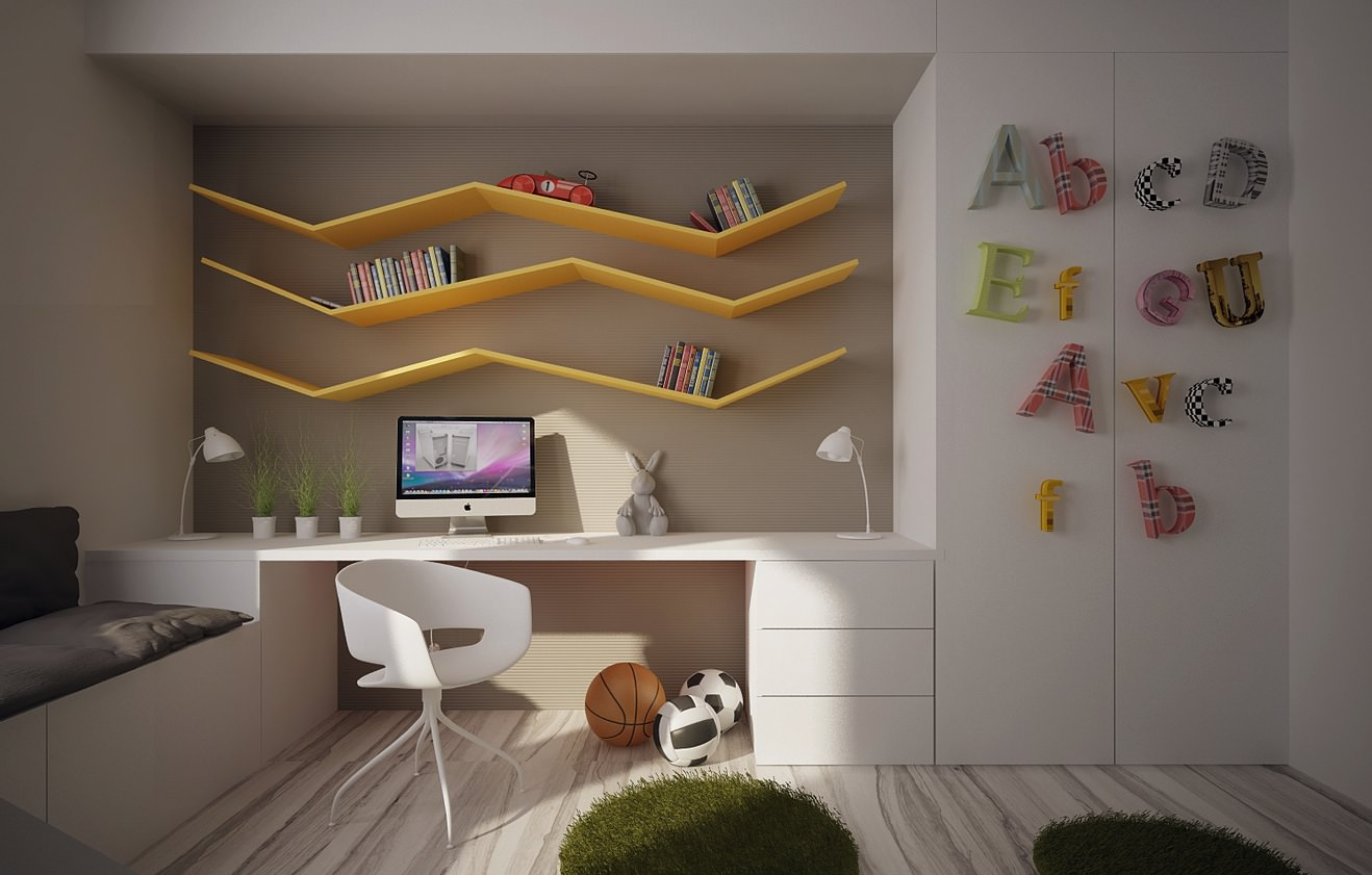 25+ Kids Study Room Designs, Decorating Ideas | Design ... on Rooms For Teenagers  id=41033