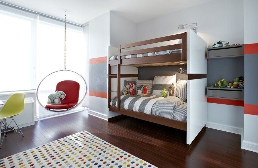 24+ Modern Kids Bedroom Designs, Decorating Ideas   Design ... on Beautiful Bedroom Ideas For Small Rooms  id=81087