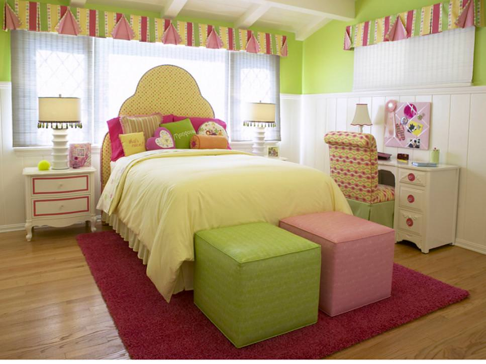 23+ Chic Teen Girls Bedroom Designs, Decorating Ideas ... on Girls Room Decoration  id=64777