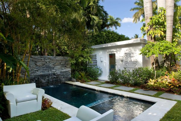 outdoor pool and patio design ideas 24+ Small Swimming Pool Designs, Decorating Ideas | Design