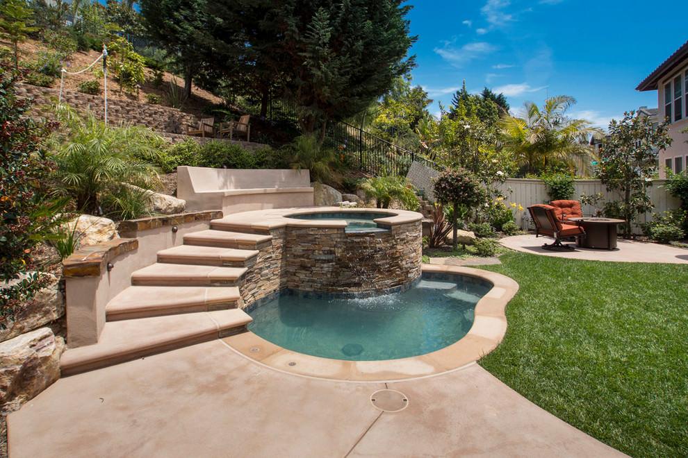 24+ Small Swimming Pool Designs, Decorating Ideas