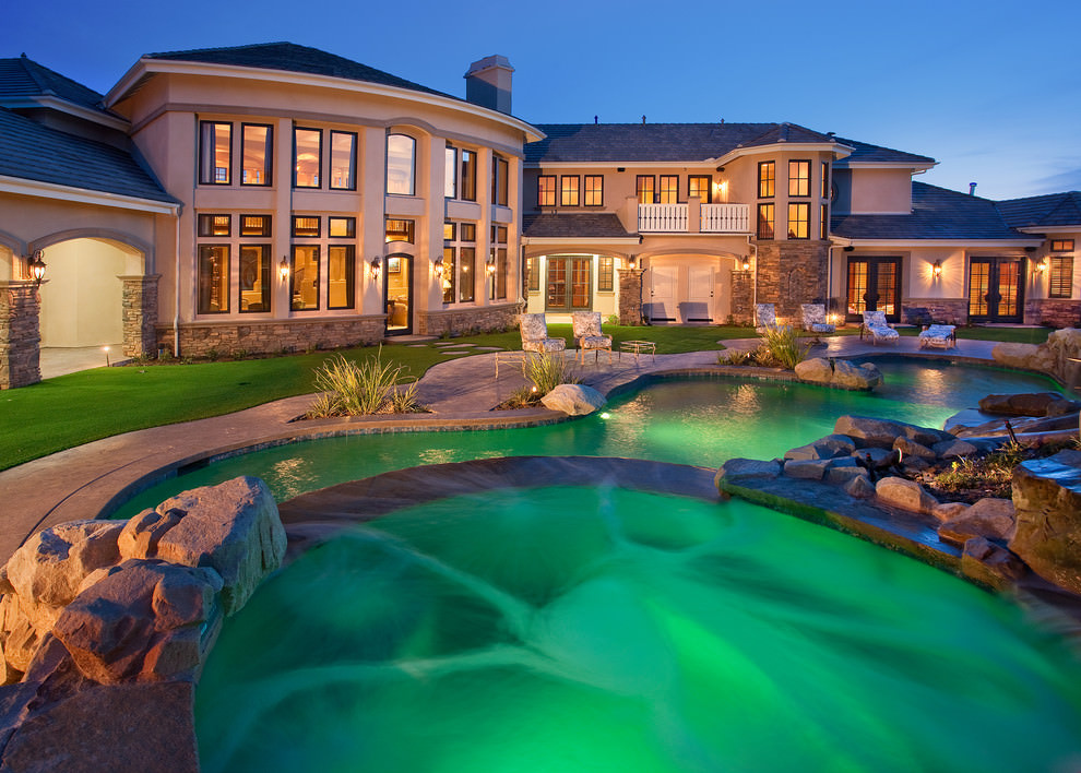 24+ Backyard Swimming Pool Designs | Outdoor Designs ... on Dream House Backyard id=80072