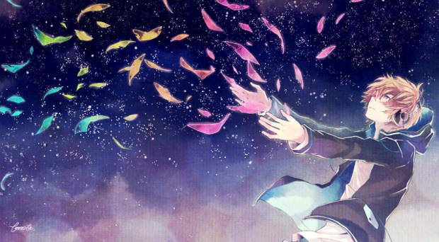 Sky Falling Out Cartoon