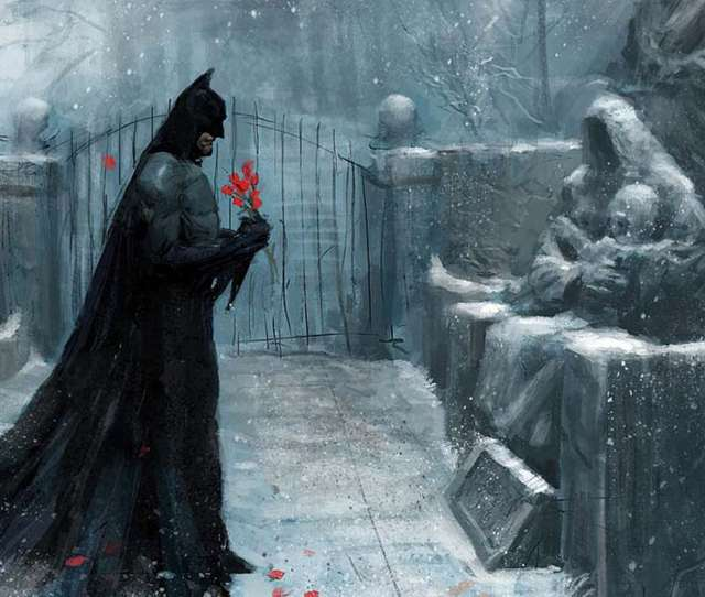 The Batman Painting Pictures