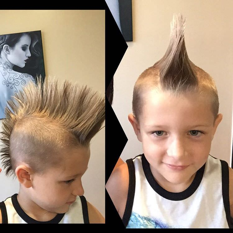 26 Edgy Mohawks Hairstyles For Kids Design Trends