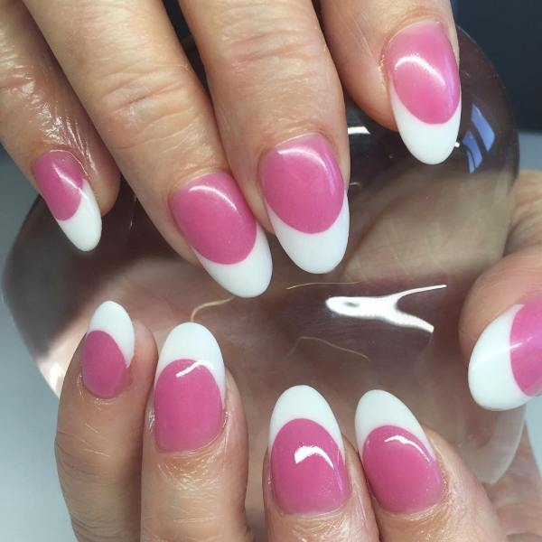 french acrylic nails almond » ..:: Edi Maps ::.. | Full HD Maps