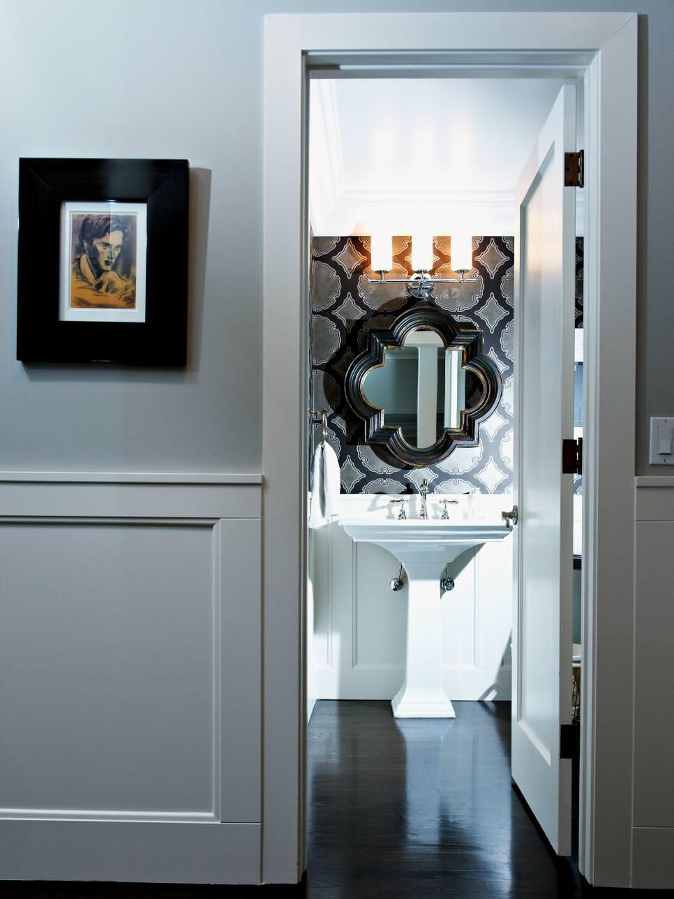 24+ Bathroom Pedestal Sinks Ideas, Designs | Design Trends ... on Modern:kkgewzoz5M4= Small Bathroom  id=16360