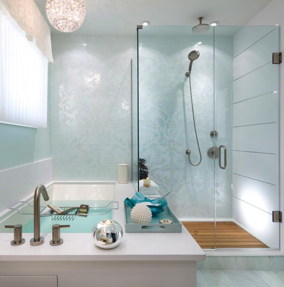 24+ Mosaic Bathroom Ideas, Designs   Design Trends ... on Bathroom Tile Design Ideas  id=40656