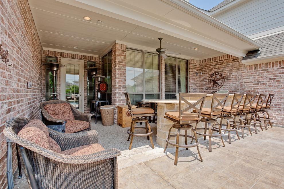 22+ Outdoor Kitchen Bar Designs, Decorating Ideas   Design ... on Backyard Lounge Area Ideas id=15248