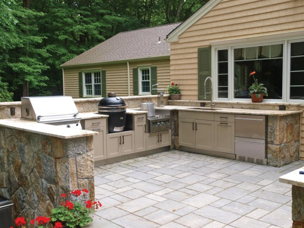 outdoor patio kitchen design 22+ Outdoor Kitchen Bar Designs, Decorating Ideas | Design