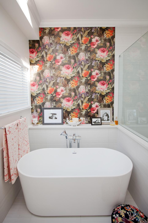 25+ Cool Bathrooms Ideas, Designs | Design Trends ... on Floral Tile Bathroom Ideas  id=46788