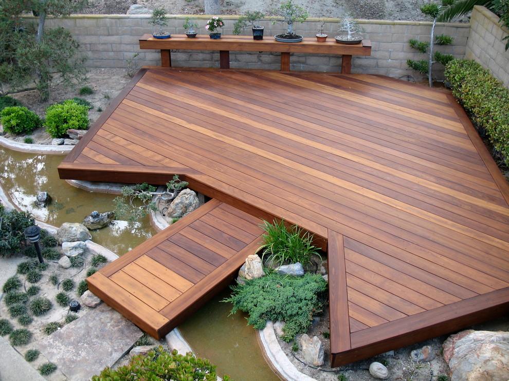 24+ Modern Deck Ideas | Outdoor Designs | Design Trends ... on Backyard Wood Patio Ideas id=91950