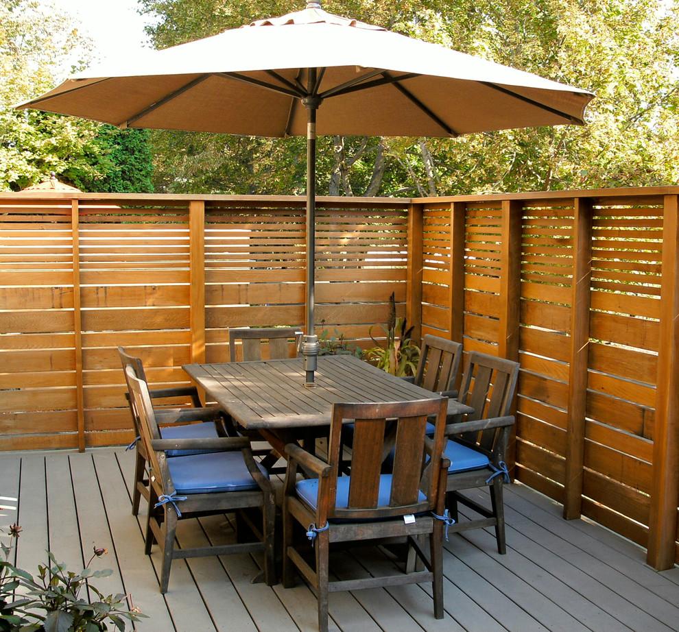 24+ Modern Deck Ideas | Outdoor Designs | Design Trends ... on Backyard Wood Patio Ideas id=66151