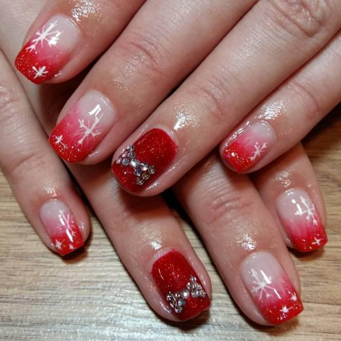 Red Nail Art Designs 2