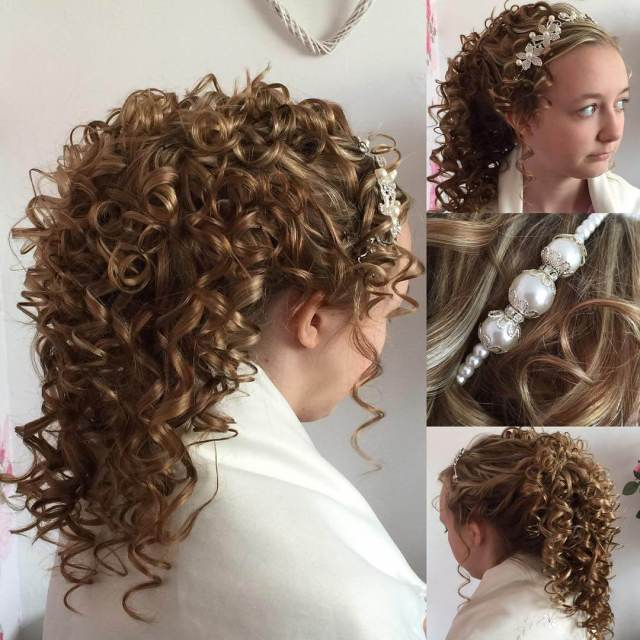 25+ curly wedding hairstyle ideas, designs   design trends