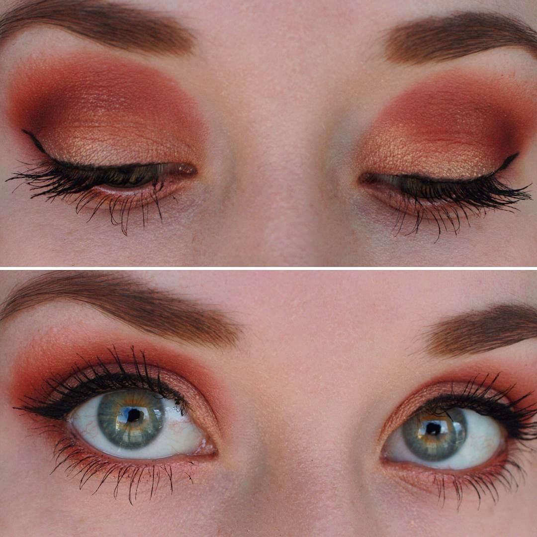 26 Red Eye Makeup Designs Ideas