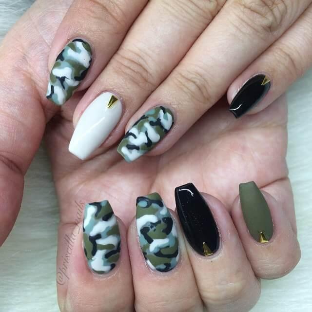 Nail Art Tutorial Cute Plaid Nails