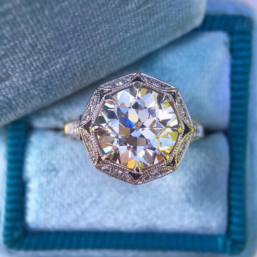 21 Vintage Inspired Engagement Ring Designs Trends Models Design Trends Premium Psd