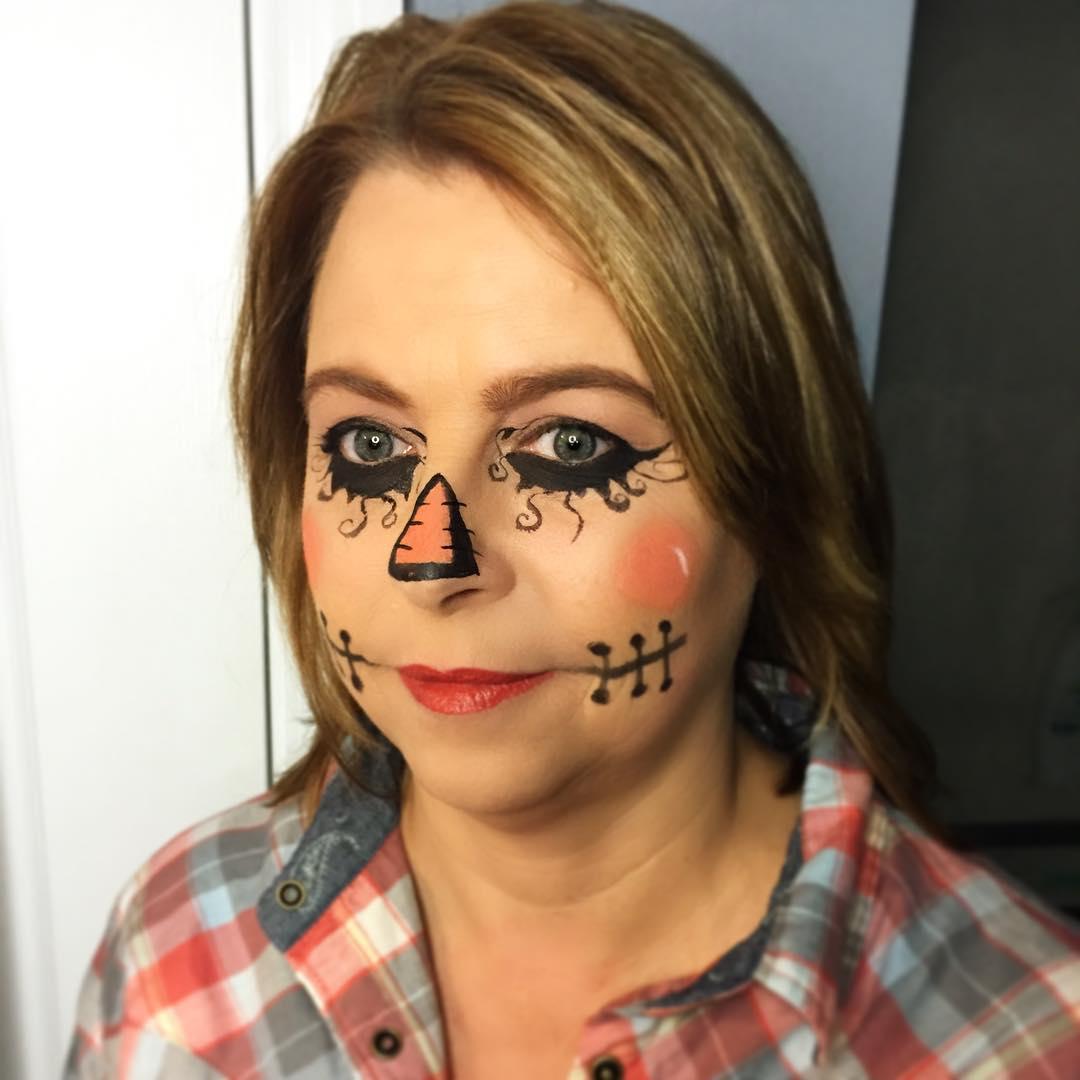 18 Scarecrow Makeup Designs Trends Ideas