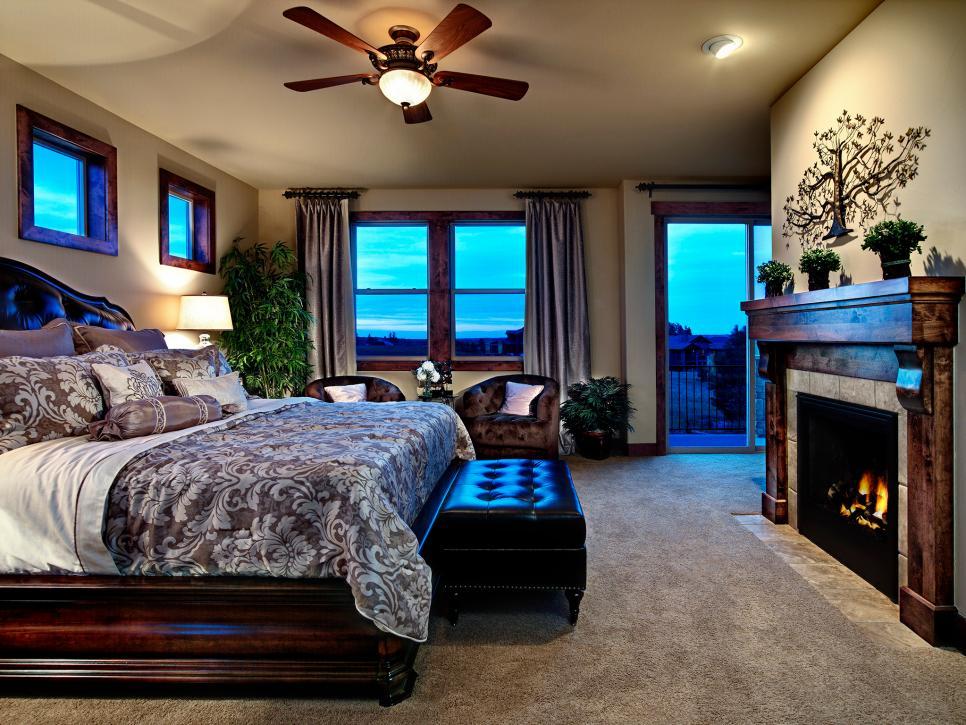 21+ Bedroom Fireplace Designs, Decorating Ideas | Design ... on Bedroom Decor  id=54188