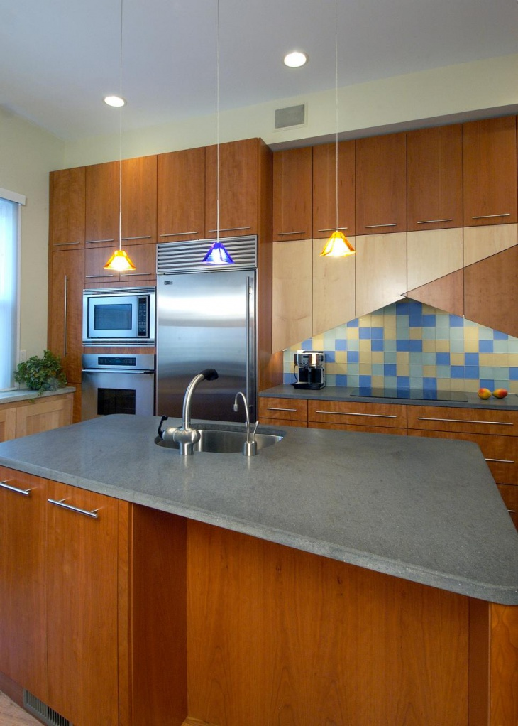 22+ Stylish Kitchen Countertop Designs, Ideas, Plans ... on Kitchen Counter Decor Modern  id=80293