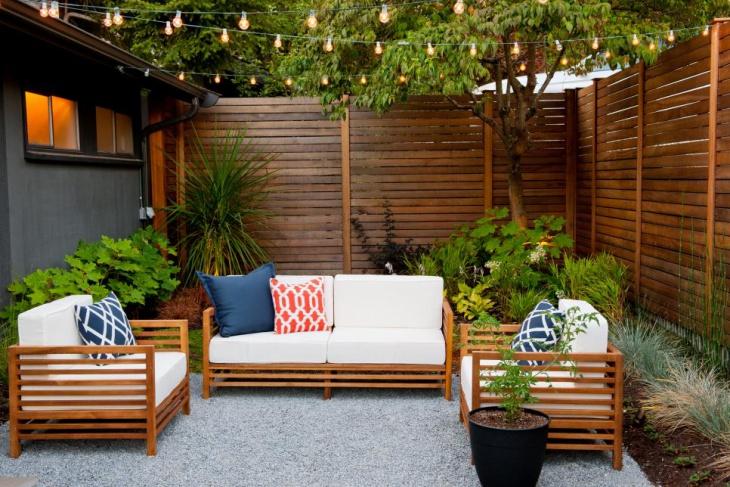 23+ Outdoor String Light Designs, Decorating Ideas ... on Backyard String Light Designs id=78893