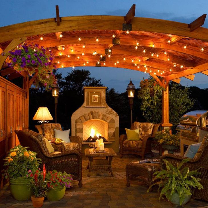 23 Outdoor String Light Designs Decorating Ideas