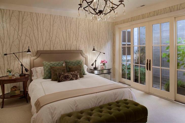 21+ Bedroom Accent Wall Colour Designs, Decor Ideas