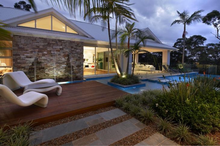 21+ Gravel Landscape Designs, Decorating Ideas | Design ... on Big Backyard Landscaping Ideas id=74433