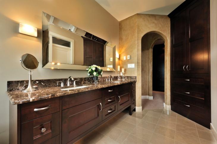 21+ Granite Bathroom Countertop Designs, Ideas, Plans ... on Bathroom Ideas With Black Granite Countertops  id=39762