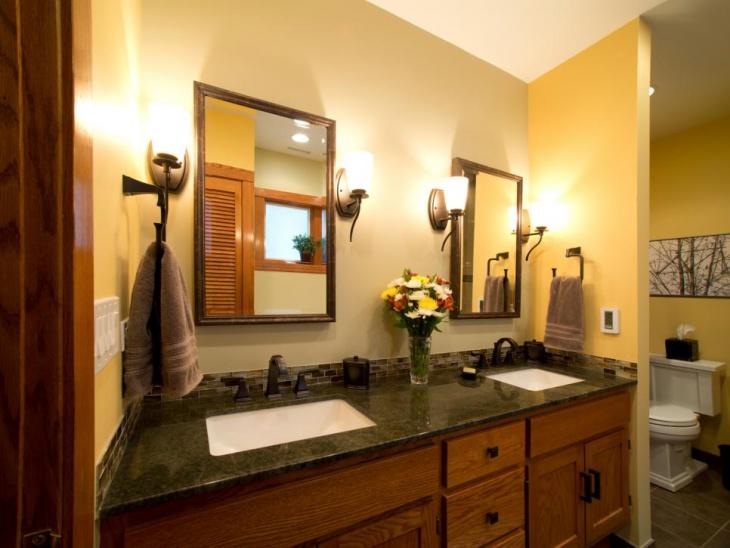 21+ Granite Bathroom Countertop Designs, Ideas, Plans ... on Bathroom Ideas With Black Granite Countertops  id=58002