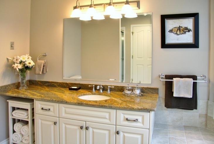 21+ Granite Bathroom Countertop Designs, Ideas, Plans ... on Bathroom Ideas With Black Granite Countertops  id=94394