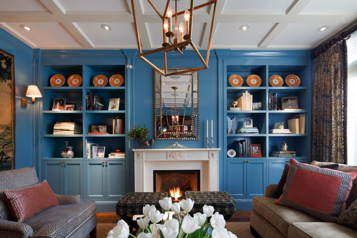 21 Living Room Bookshelf Designs Decorating Ideas