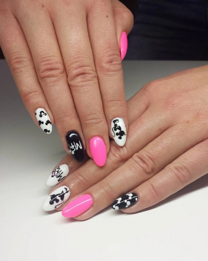 Nail Art Design For Round Nails Best 2018