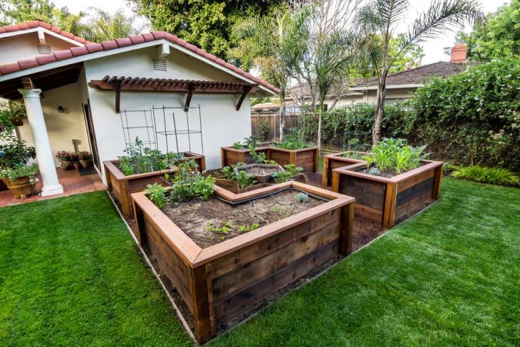 20+ Raised Bed Garden Ideas | Design Trends - Premium PSD ... on Raised Patio Designs  id=40570