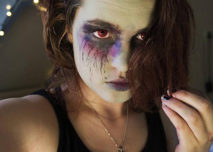 Eyes Zombie Cute Makeup