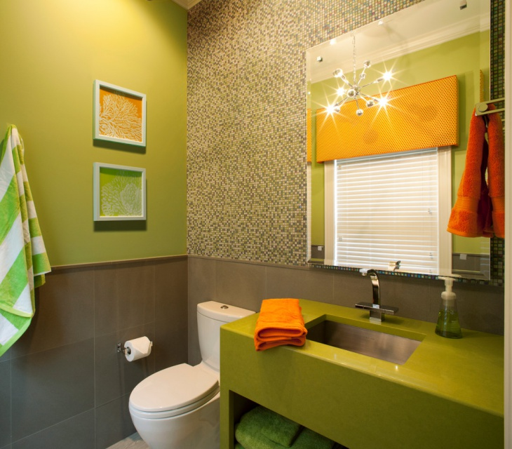 20 Lime Green Bathroom Designs Ideas Design Trends