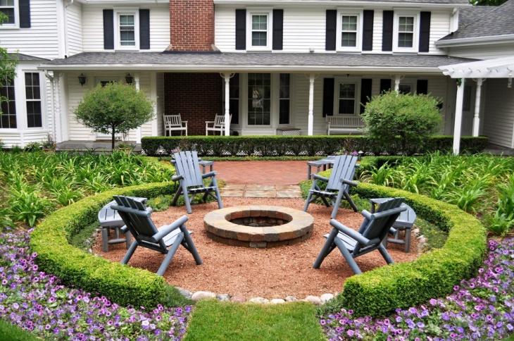 17+ Brick Patio Designs , Ideas | Design Trends - Premium ... on Small Backyard Brick Patio Ideas id=58739