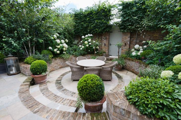 17+ Brick Patio Designs , Ideas | Design Trends - Premium ... on White Patio Ideas id=52017
