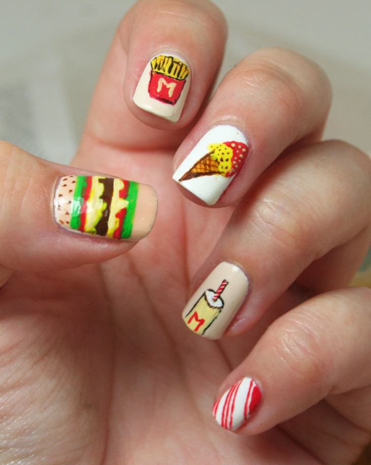21 Food Nail Art Designs Ideas Design Trends Premium