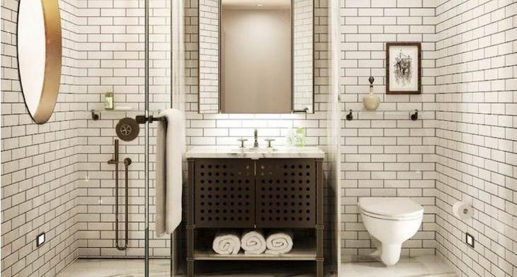 18 subway tile bathroom designs ideas